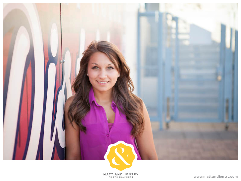 Teen Portraits in Downtown Reno - Freighthouse District