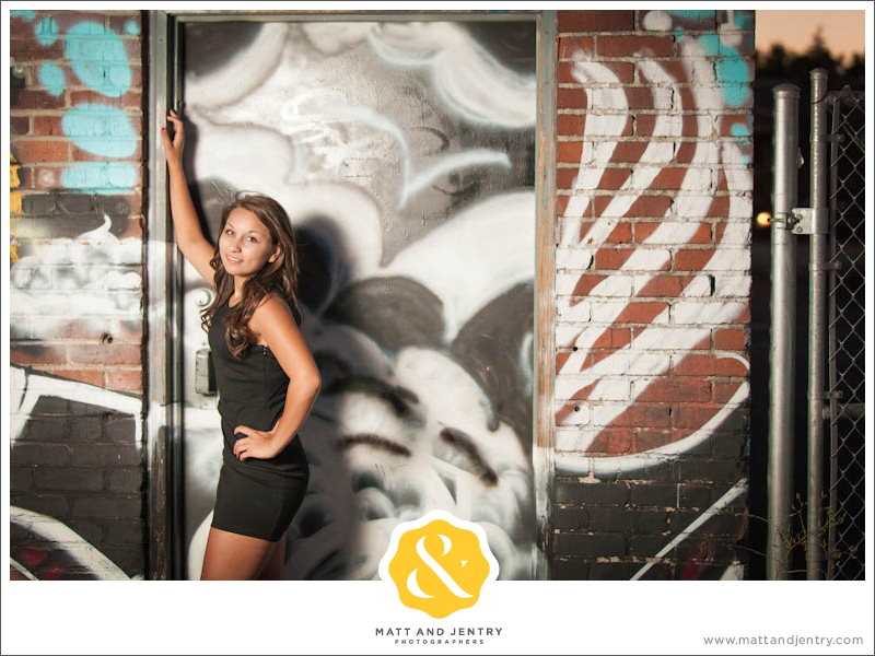 Teen Portraits in Downtown Reno - Graffiti Wall