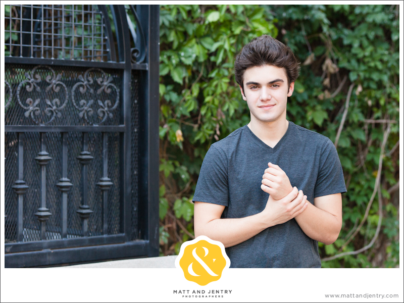 Senior Portraits in Reno at West Street Market by Church on First Street