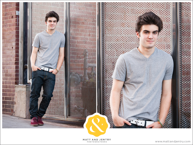 Senior Portraits in Reno at West Street Market