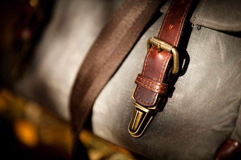 ONA Union Street Buckle and Strap Details