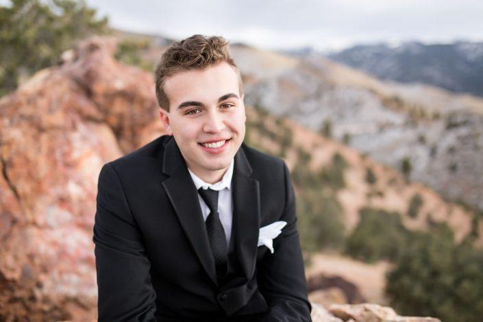 Geiger Grade Overlook Reno High School Senior Portraits by Reno High School Senior Photographer