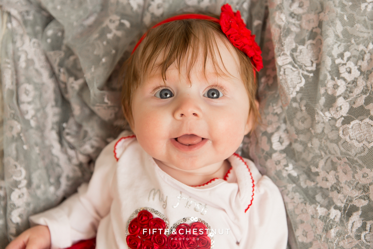 Valentine Baby Photos