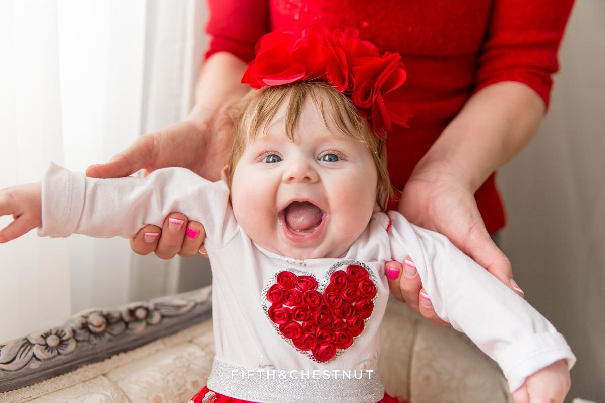 Valentine Baby Photos