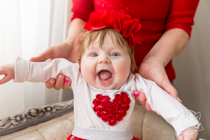 Valentine's Day Photos by Reno Baby Photographer