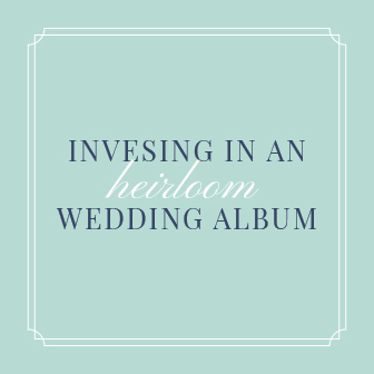 Link to information on investing in an heirloom wedding album by Lake Tahoe Wedding Photographer