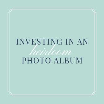 investing in an heirloom photo album by reno family photographer
