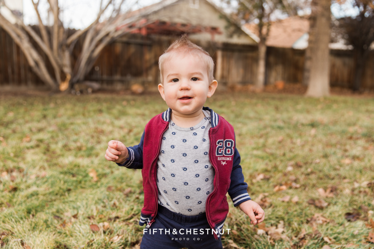 Cooper's Big Boy Haircut | Reno Family Photographer