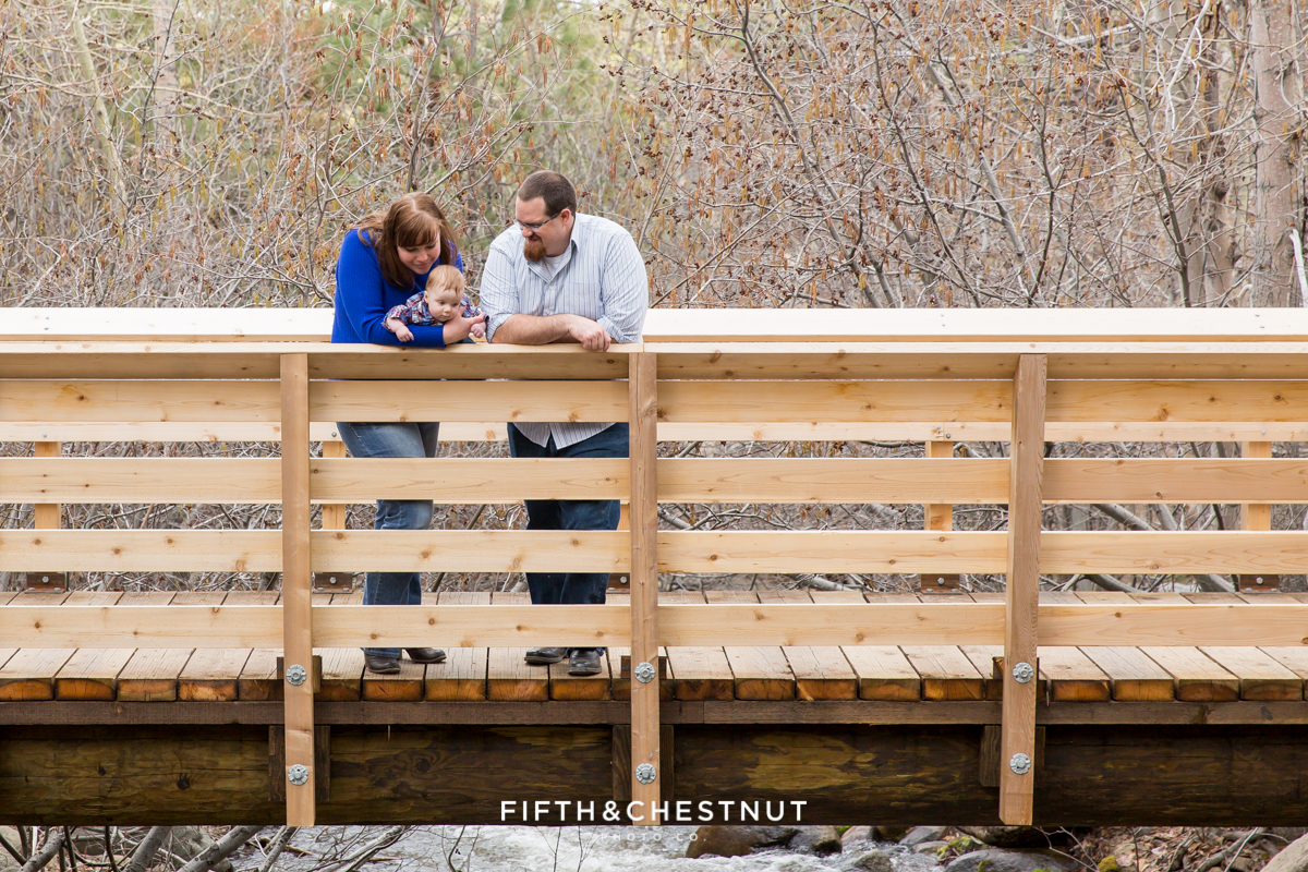 Reno Family Portraits in Spring at Galena Creek Park