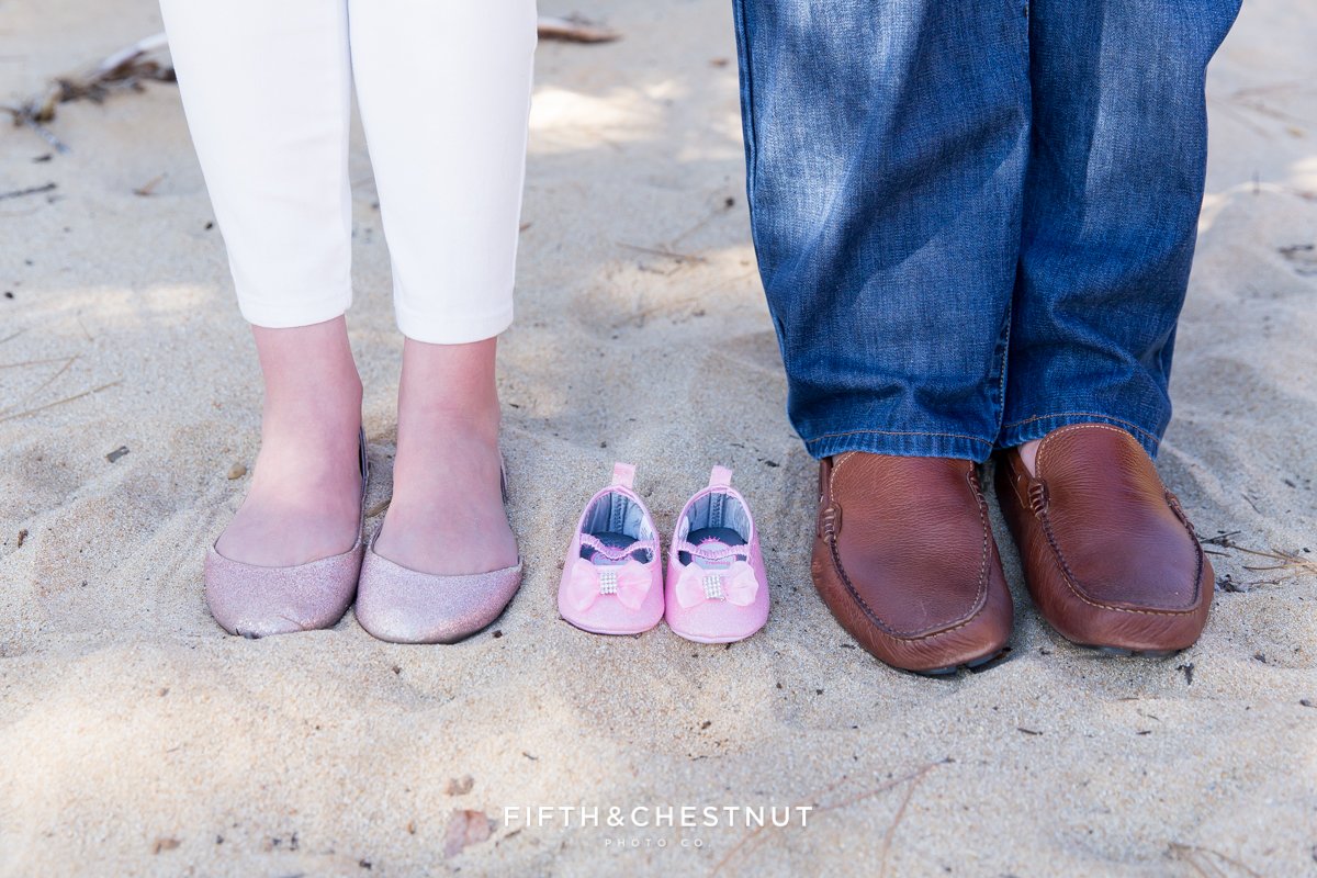 Sand Harbor Maternity Photo by Reno Maternity Photographer
