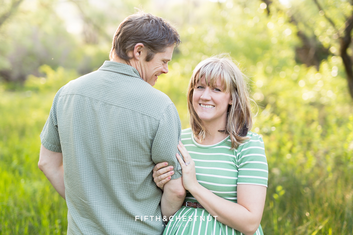 maternity photography in reno with expecting mom and dad
