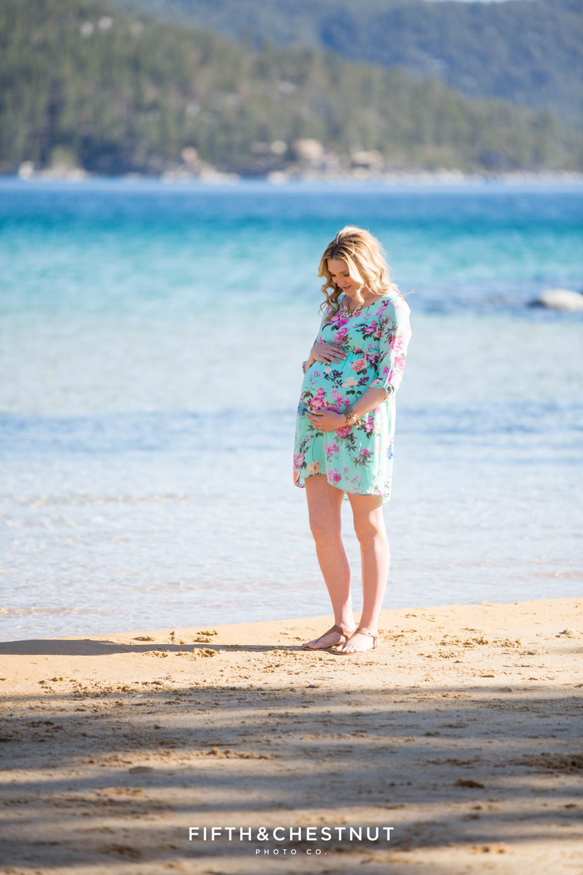 Maternity photos and Sand Harbor Portraits by Reno Maternity Photographer