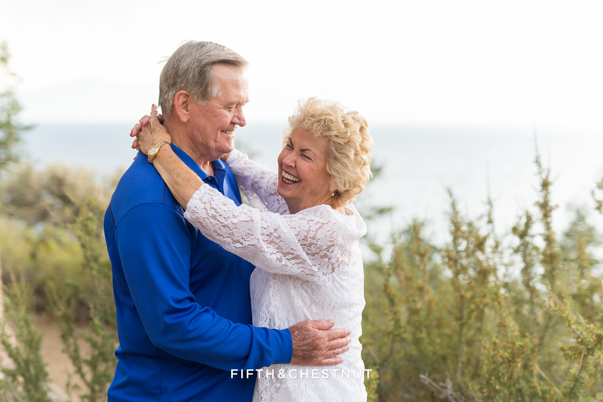 50th Anniversary Portraits by Lake Tahoe Family Photographer