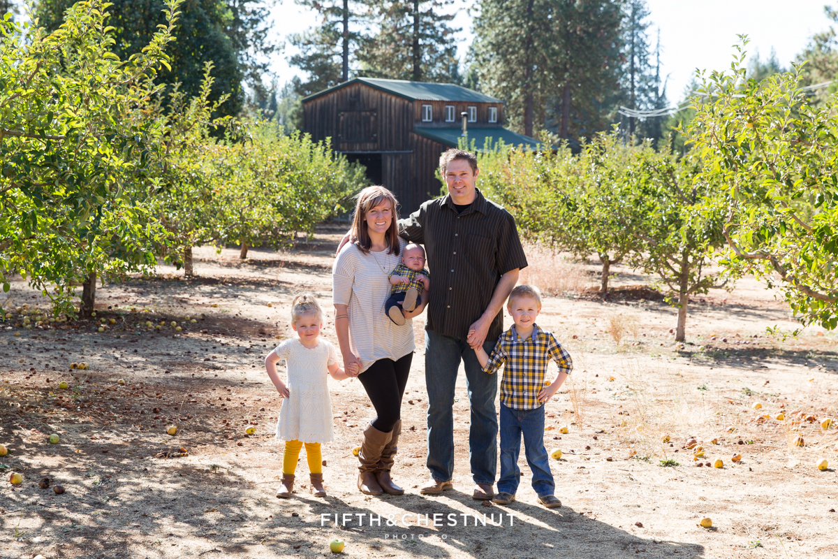 Apple Hill Family Portraits by Reno Family Photographer | Hume Family