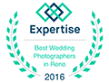 Fifth and Chestnut Photo Co is Winner of 2016 Best Wedding Photographers in Reno by Expertise