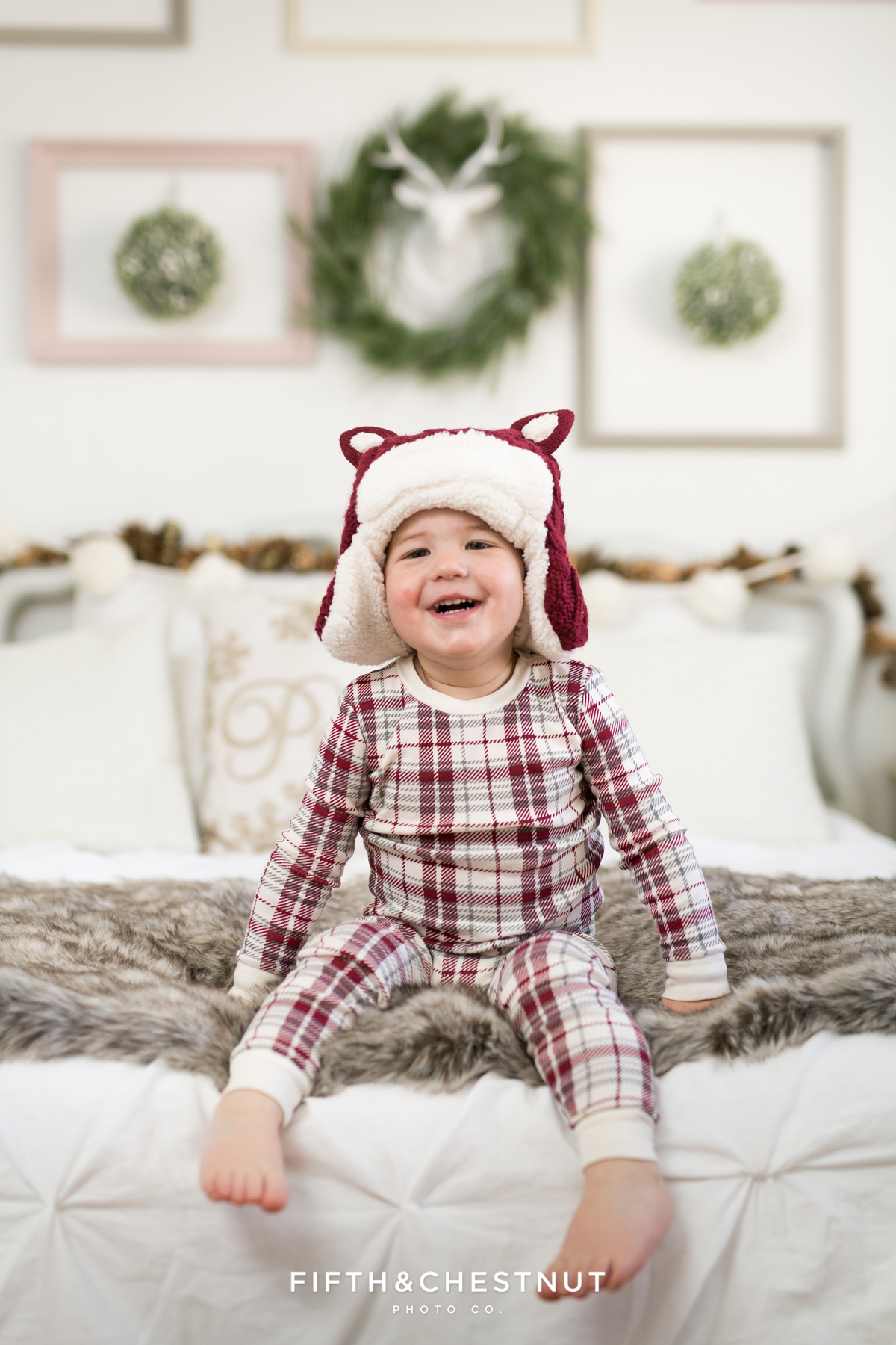 2016 Holiday Pajama Portrait Test Shoot