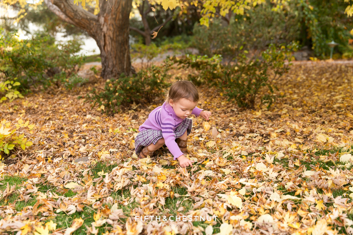 Fall Family Potraits in Reno of the Gerkens by Reno Family Photographer