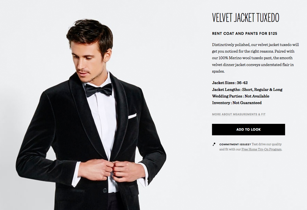 velvet jacket tux by black tux winter wedding inspiration