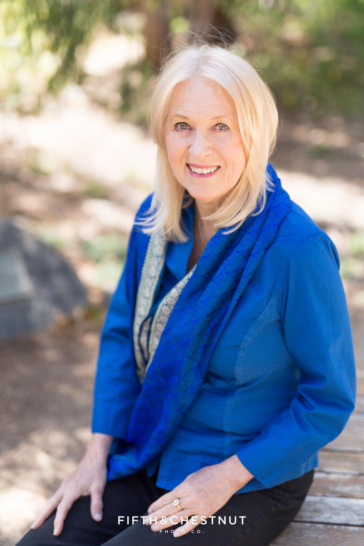 Vibrant Author headshot by Reno Headshot Photographer