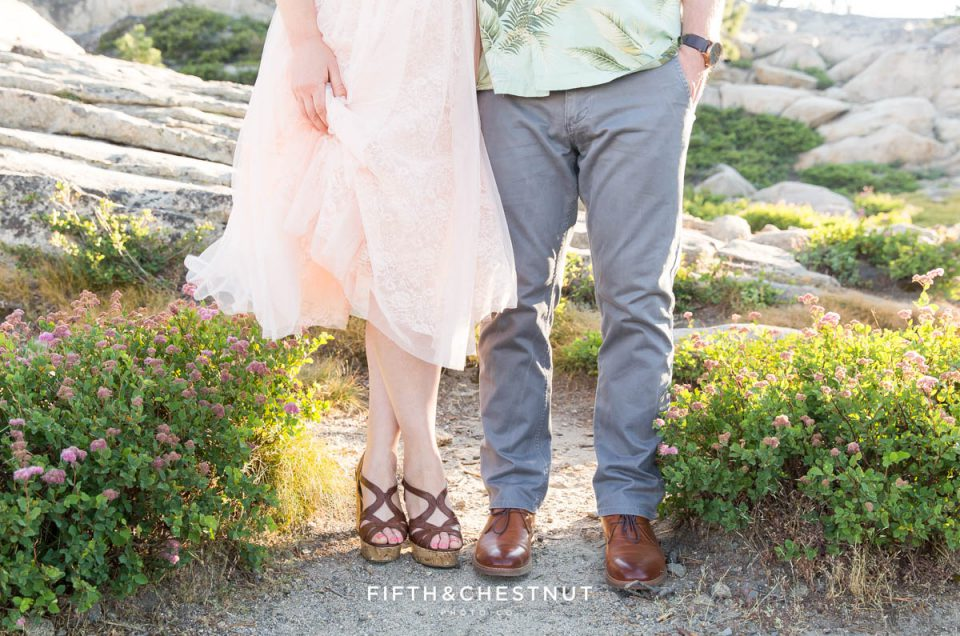 Donner Lake Engagement in Summer by Quincy Wedding Photographer