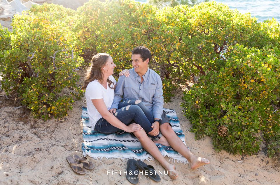 Casual Summer Tahoe Engagement at Sand Harbor | Lake Tahoe Wedding Photographer