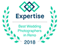 Fifth and Chestnut wins Best Wedding Photographer in Reno Award in 2018