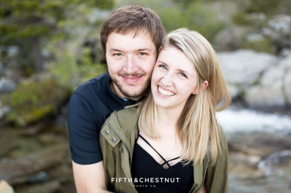Spring Eagle Falls Engagement by Northern California Wedding Photographer