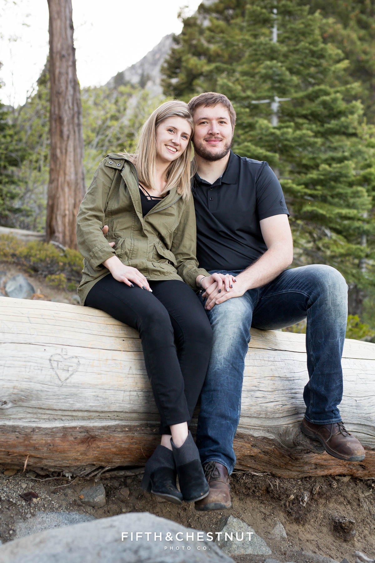 Spring Eagle Falls Engagement