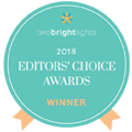 Fifth and Chestnut wins Best 2018 Editor's Choice Award from Two Bright Lights