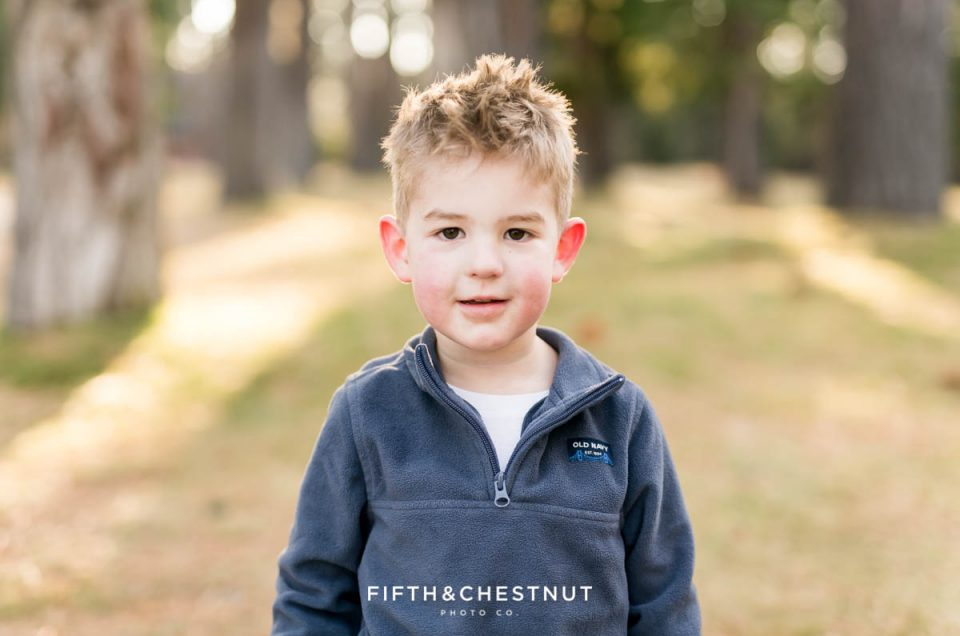 Fall Four Year Old Portraits by Reno Child Portrait Photographer