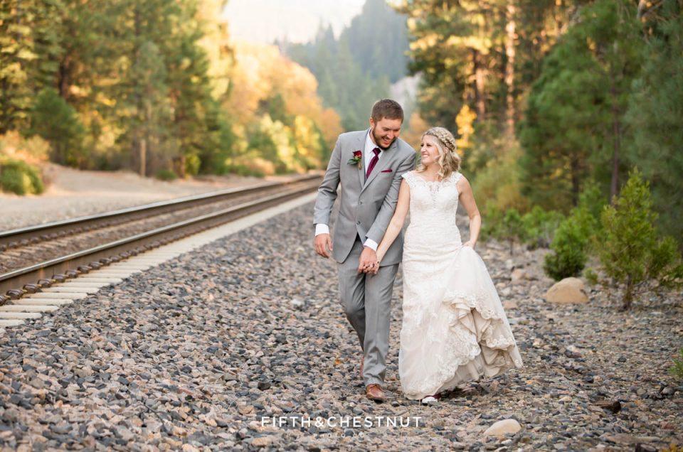 Gorgeous Fall Twenty Mile House Wedding | Tahoe Wedding Photographer