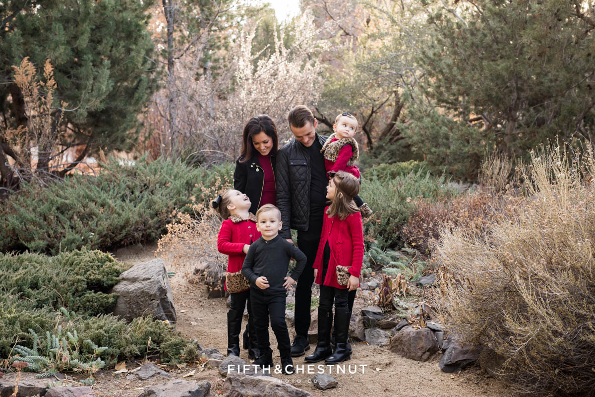 Elegant Reno Fall family photos at Rancho San Rafael by Reno Family Photographer