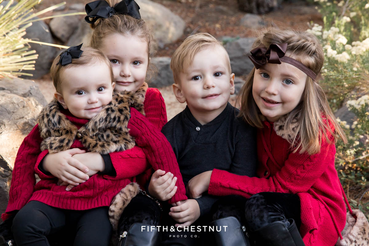 Elegant Reno Fall family portraits at Rancho San Rafael by Reno Family Photographer