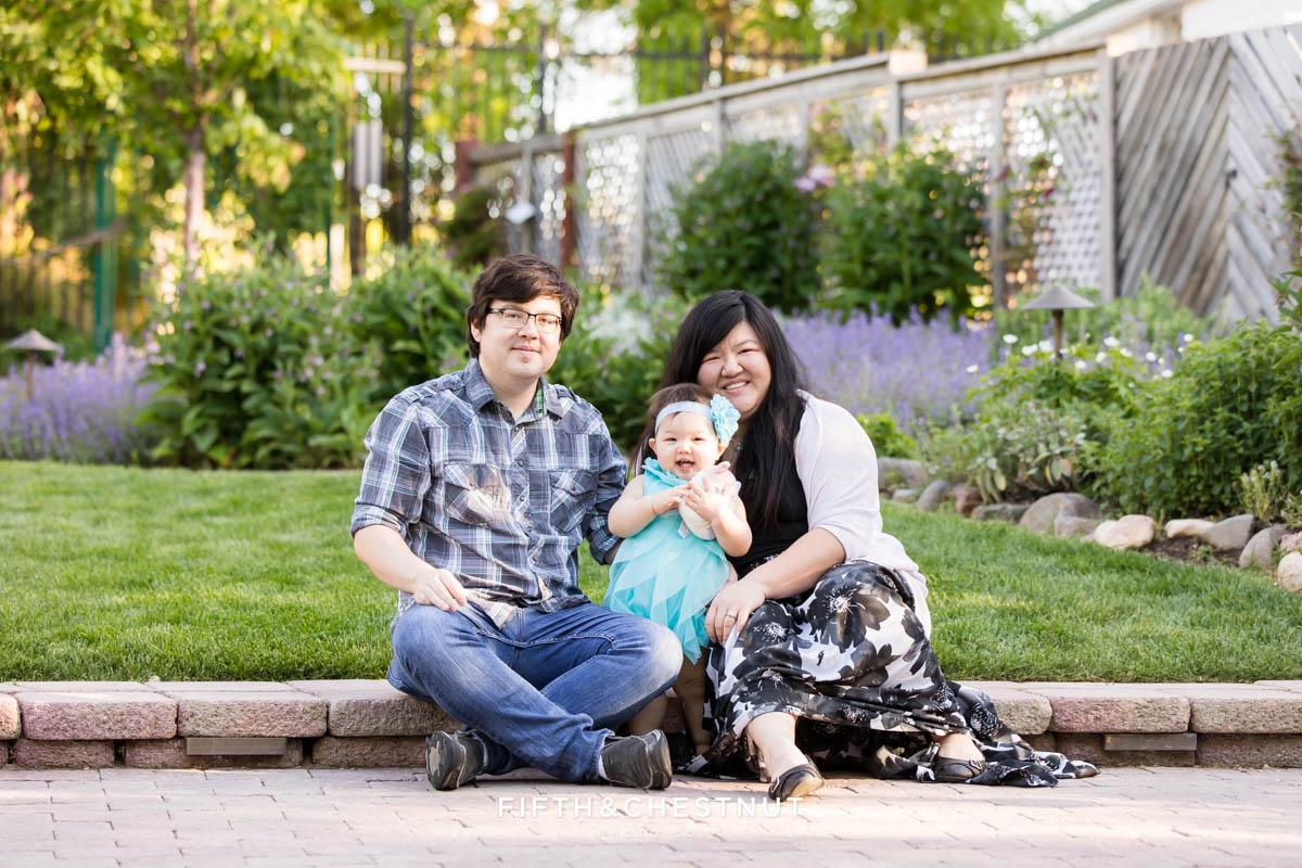Beautiful Spring Family portrait at Rancho San Rafael by Reno Family Photographer