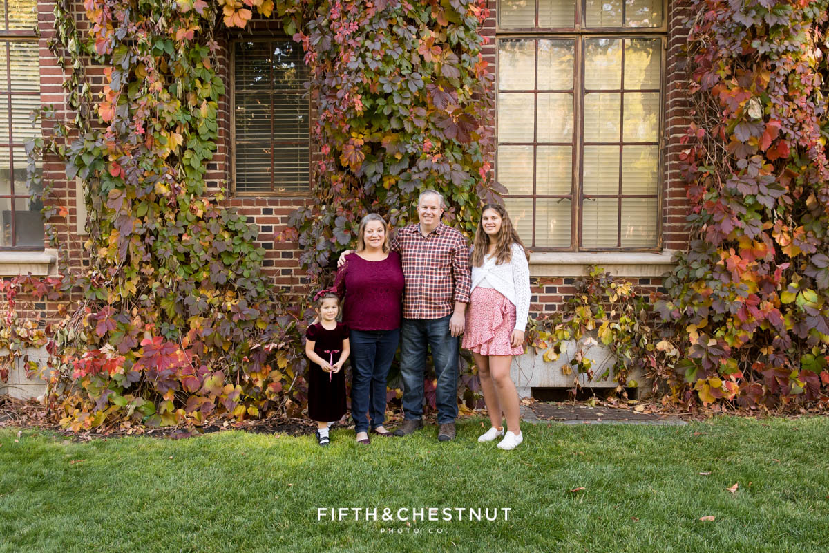 Colorful UNR fall photos by Reno Family Photographer