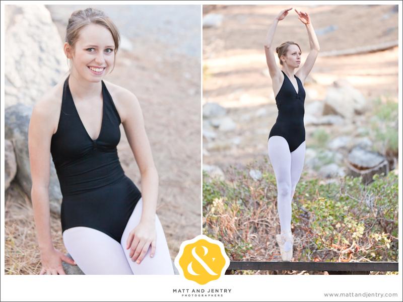 Teen Portrait at Galena Creek Park - ballet dancer dancing