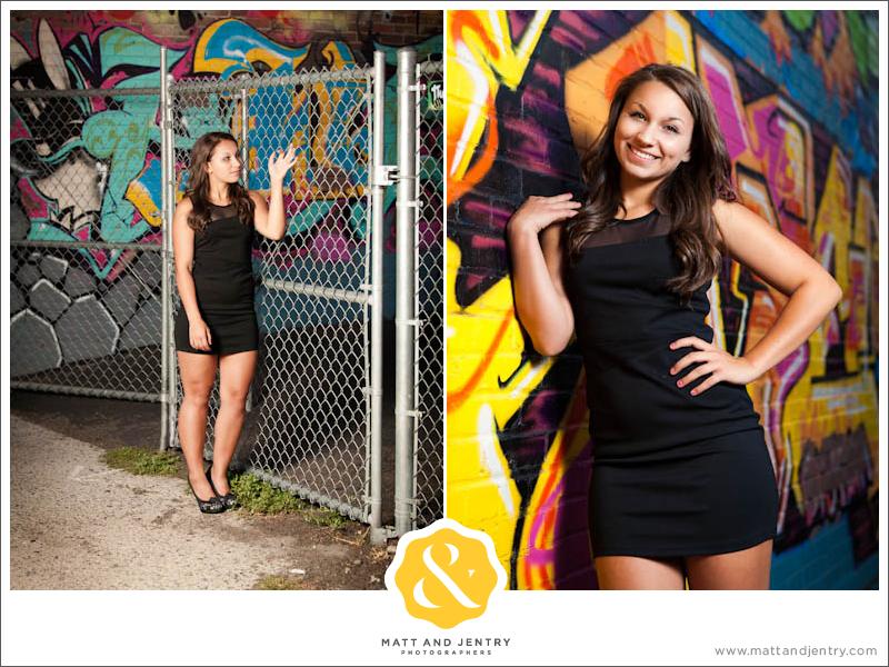 Teen Portraits in Downtown Reno - Graffiti Wall