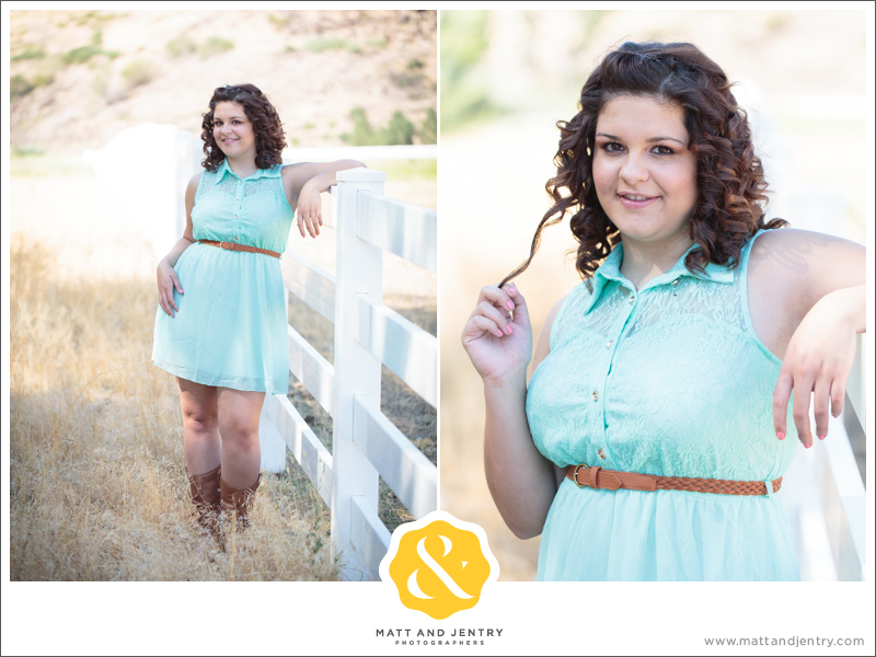 Senior Photos with Reno Senior Photographer Matt and Jentry at Bartley Ranch, NV with senior model Monay