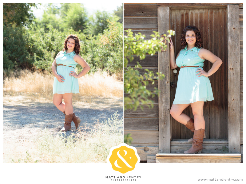 Senior Photos with Reno Senior Photographer Matt and Jentry at Bartley Ranch, NV with Senior Model Monay in field and by ranch houses