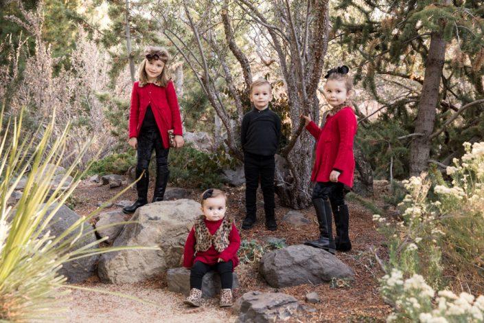 Elegant Reno Fall family portraits at Rancho San Rafael by Reno Family Photographer