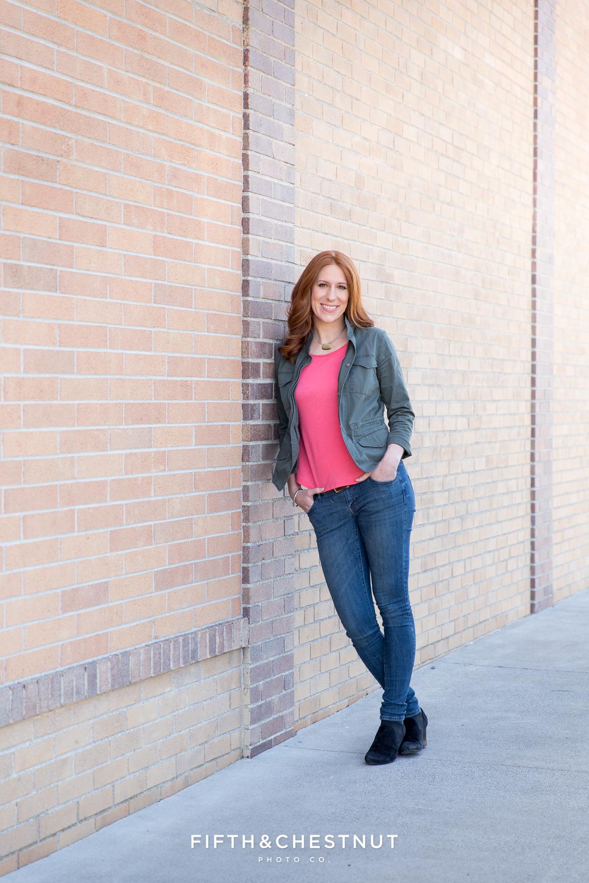 Headshots of Amber Barnes by Reno Headshot Photographer