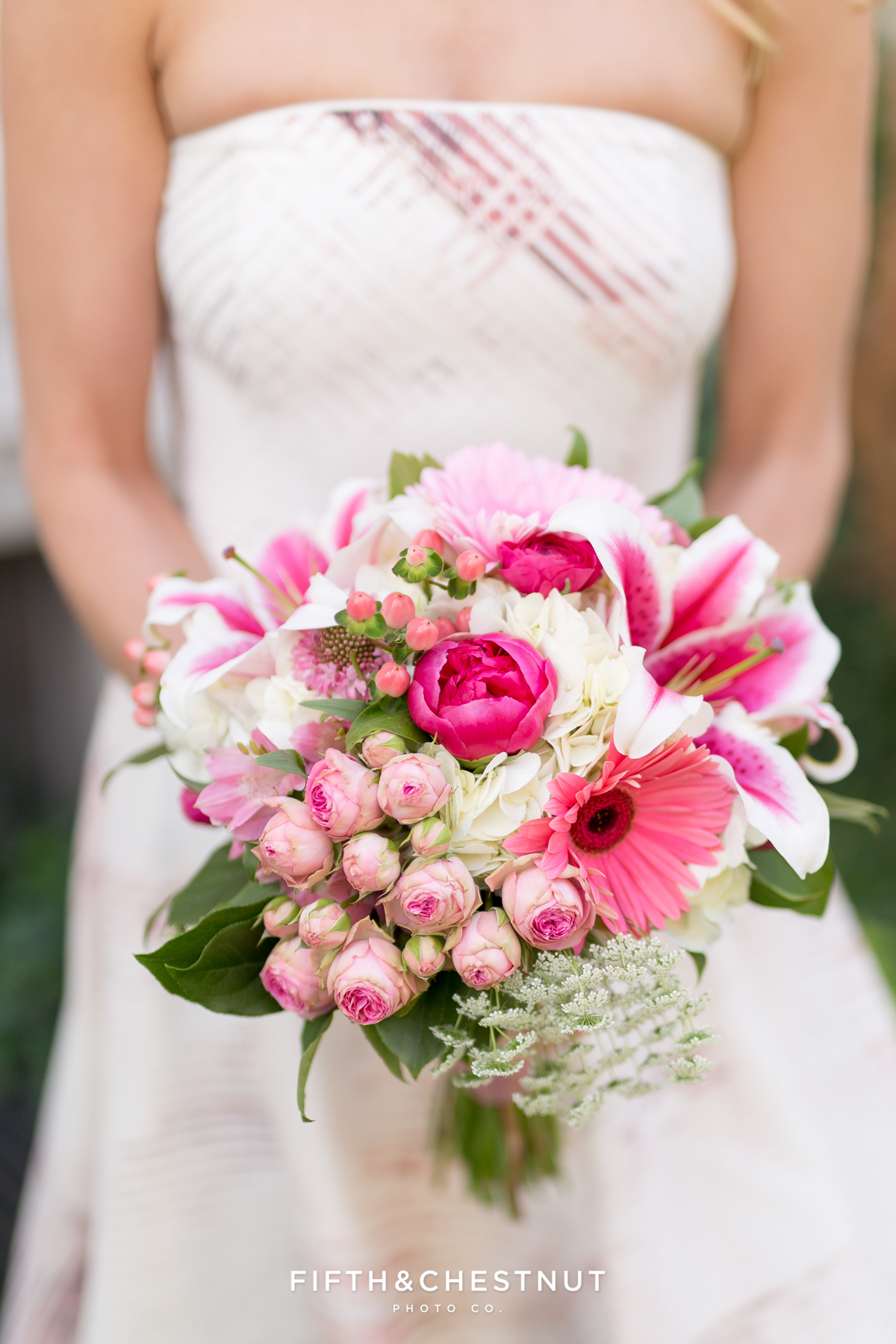 Bride's bouquet for her Downtown Reno elopement by Reno Wedding Photographer