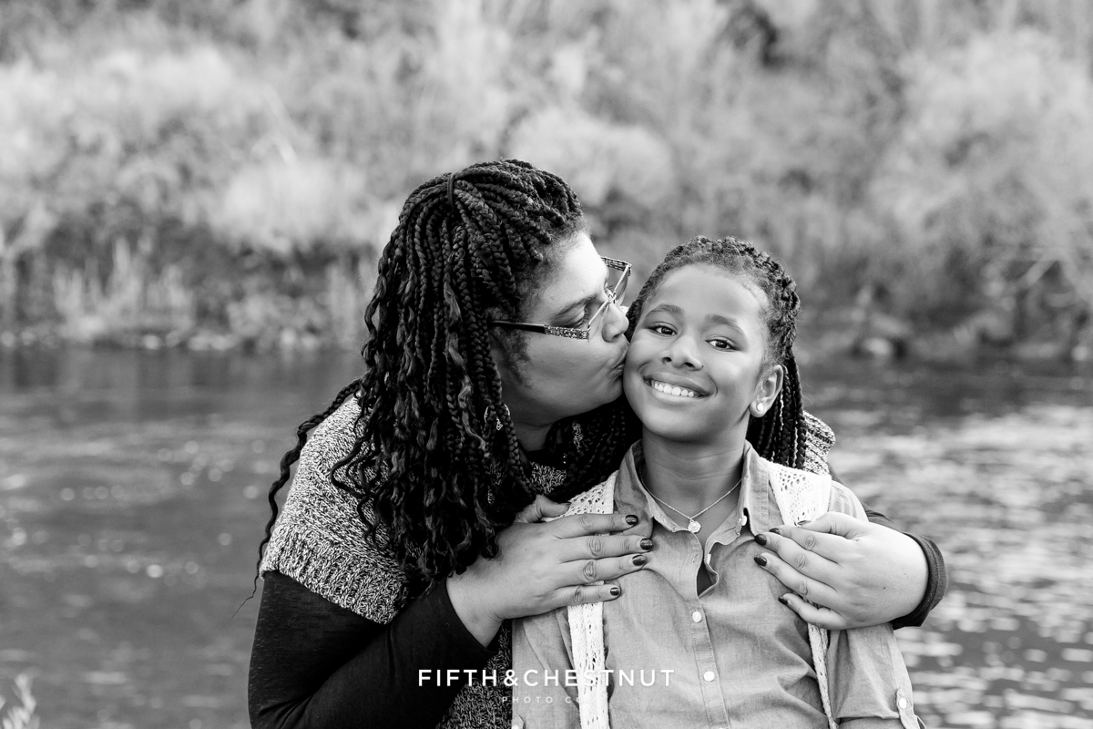 Beautiful Reno fall family portraits at Mayberry Park in Reno by Reno Family Photographer