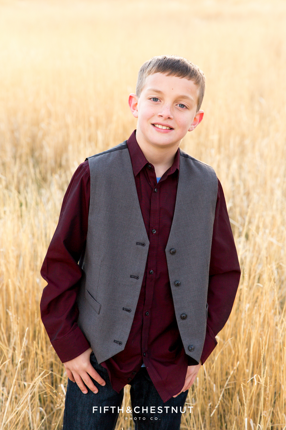 Fall Reno Family Portraits by Reno Family Photographer before Thanksgiving