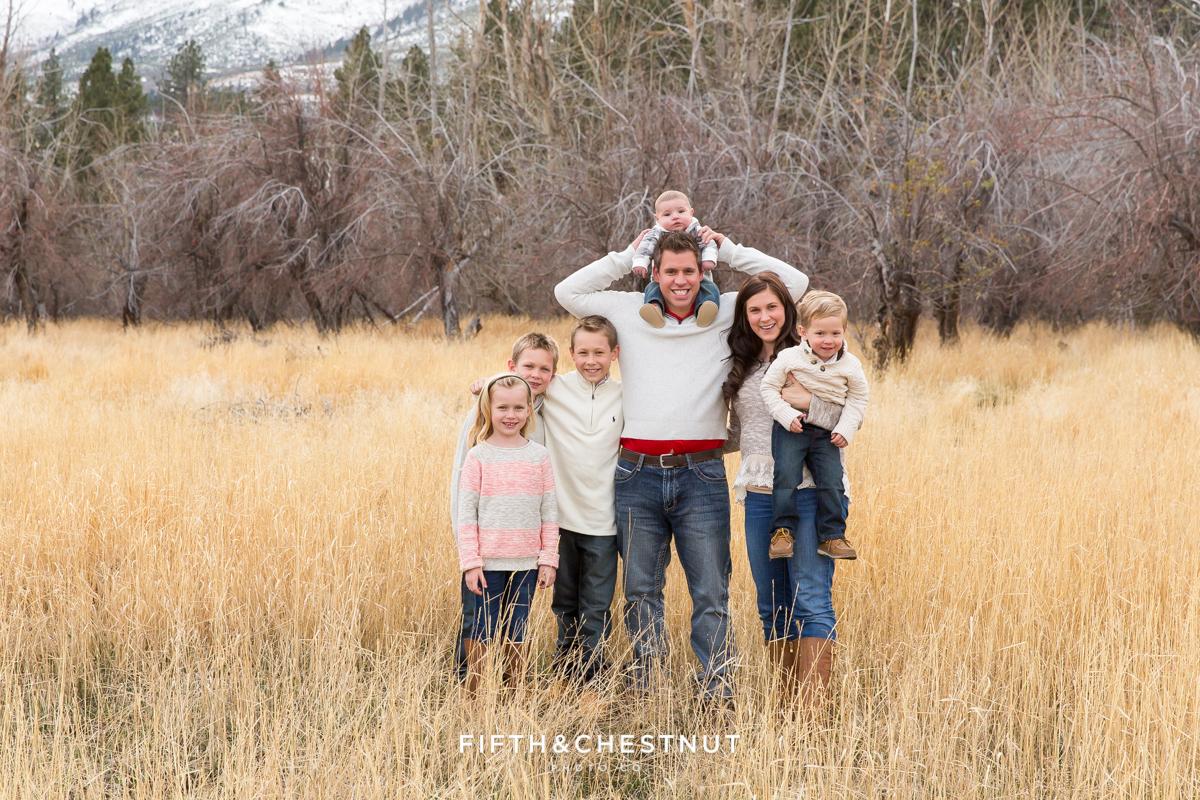 Holiday Reno Family Portraits in Verdi by Reno Family Photographer