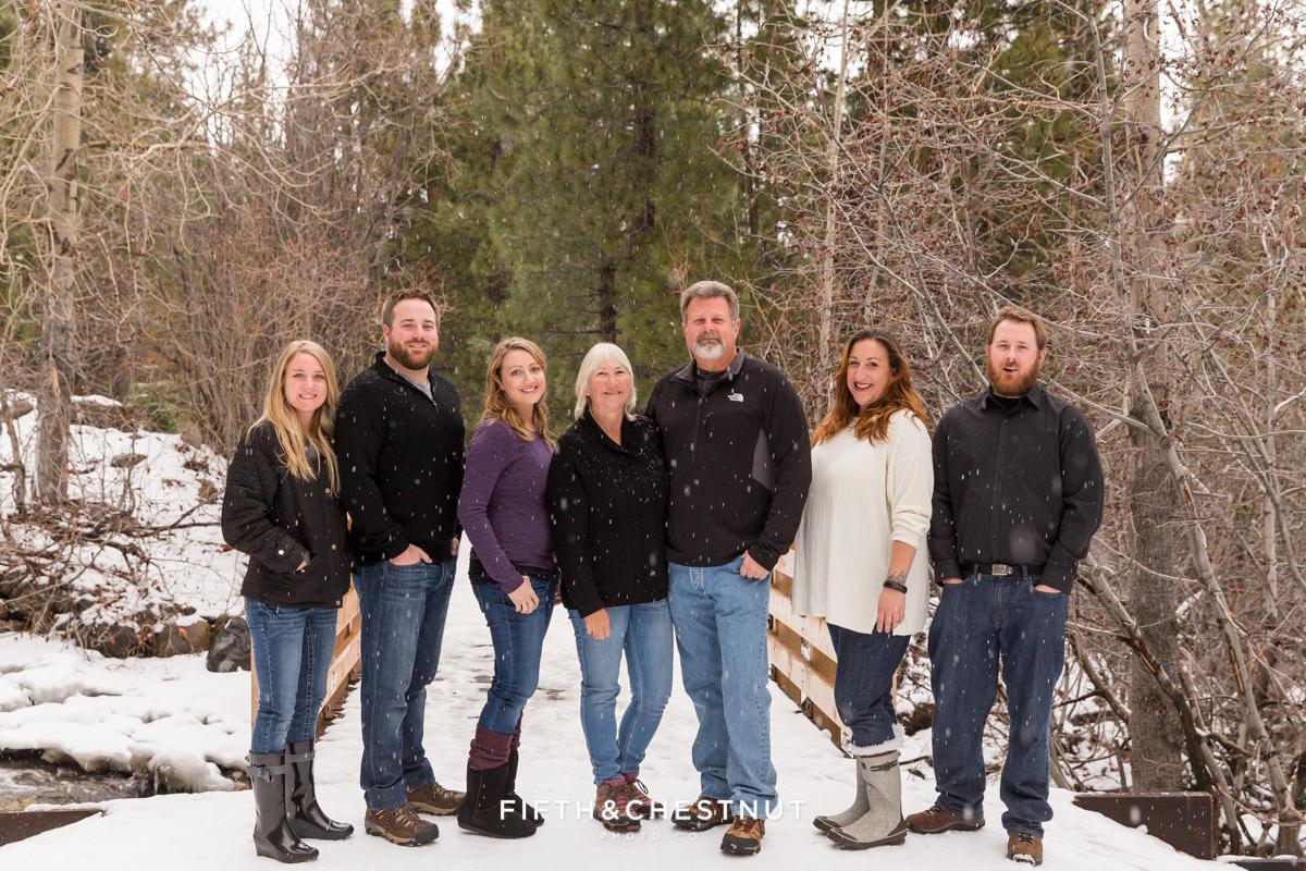 Pre Holiday Portraits at Galena Creek Park by Reno Family Photographer