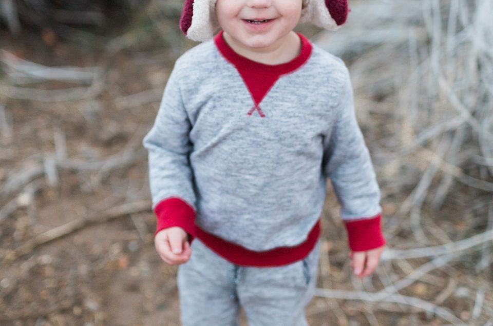 Reno Toddler Portraits at Hidden Valley Regional Park by Reno Toddler Photographer