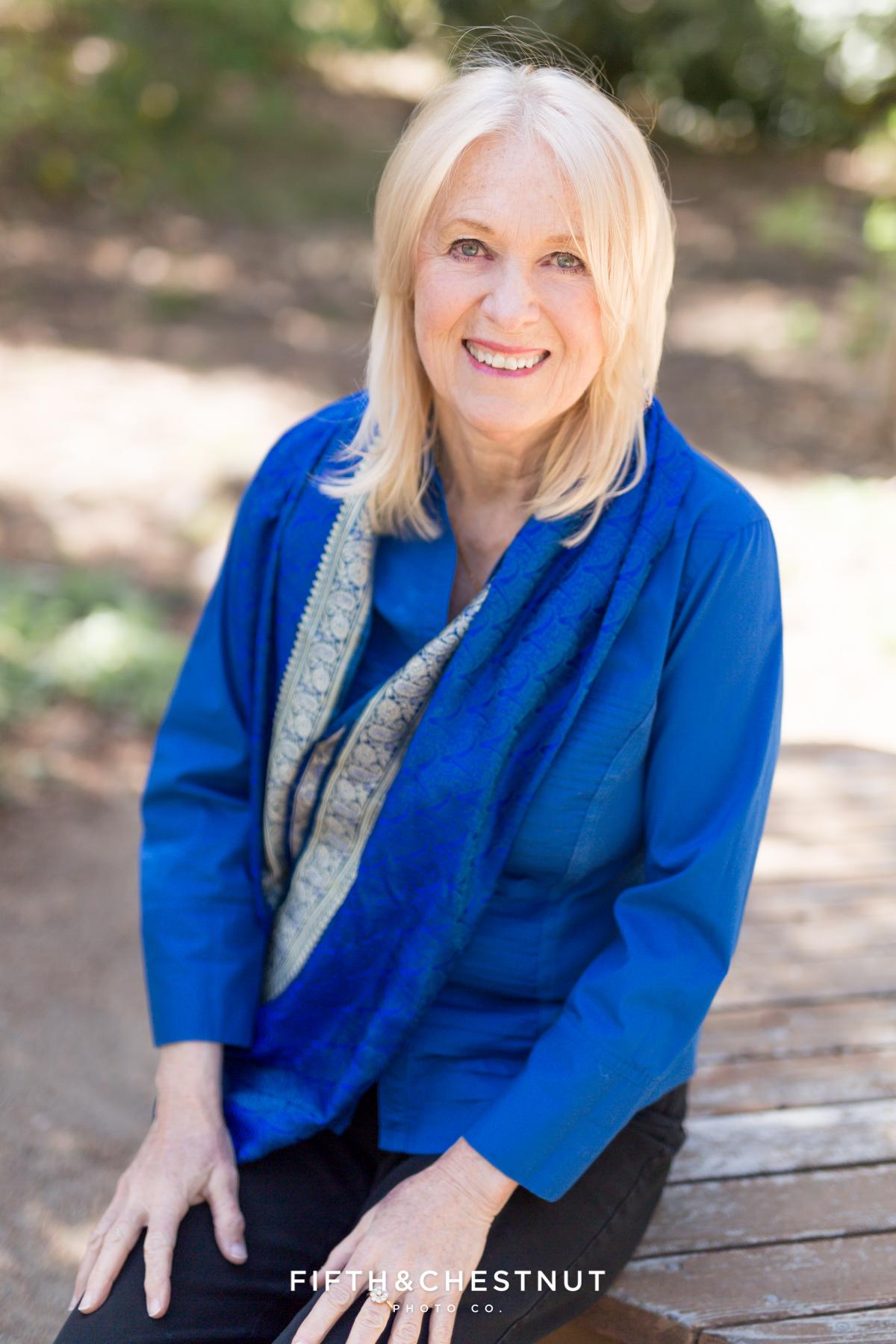 Lovely Author headshot by Reno Headshot Photographer