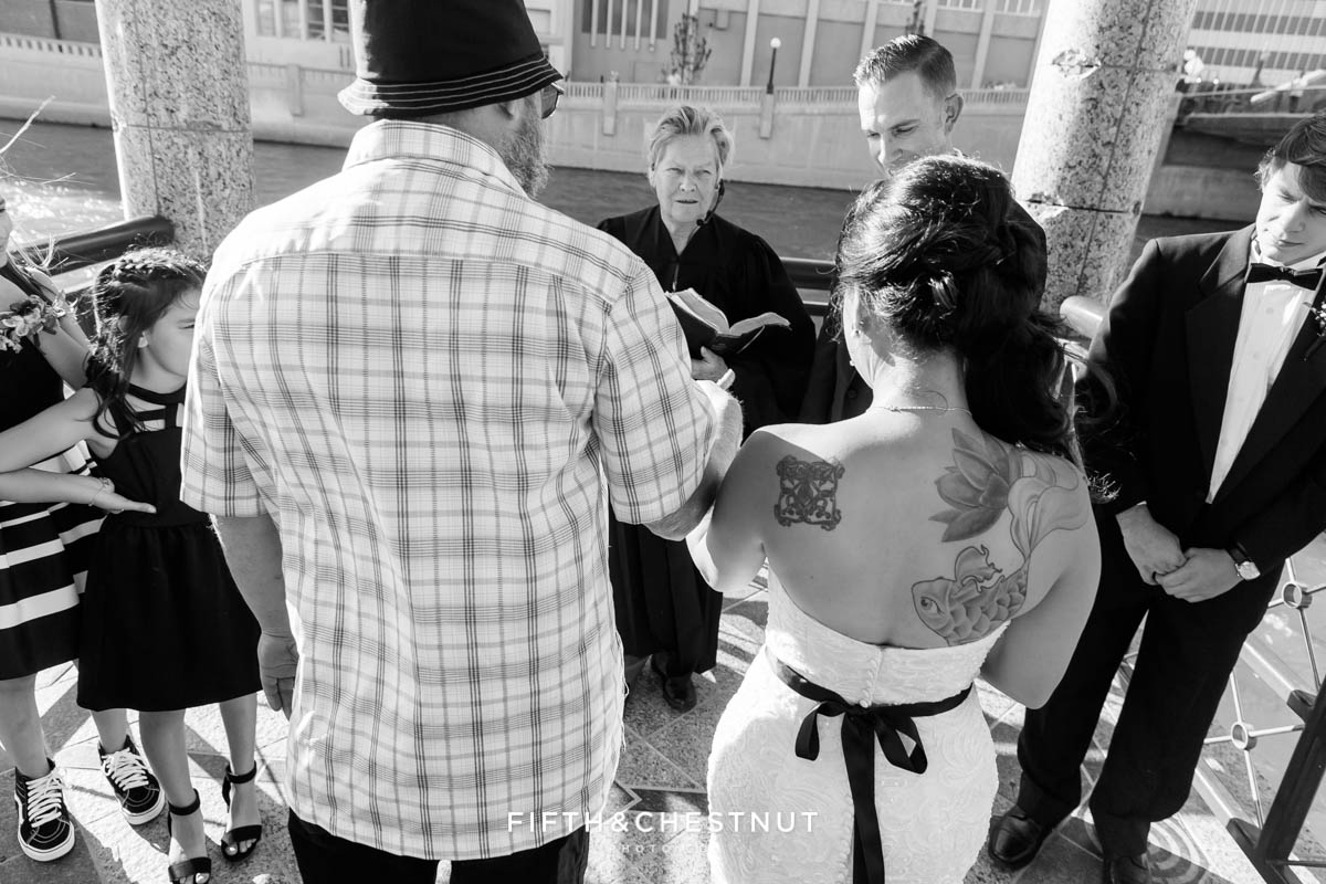 Father gives his daughter away for a Downtown Reno Elopement