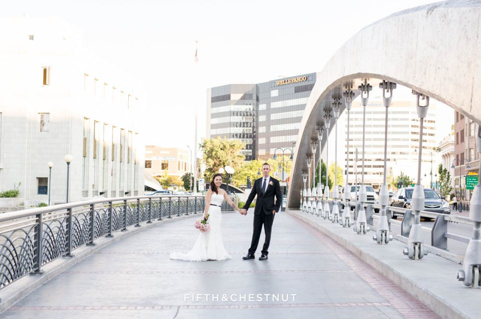 Sweet Summer Downtown Reno Elopement by Reno Wedding Photographer